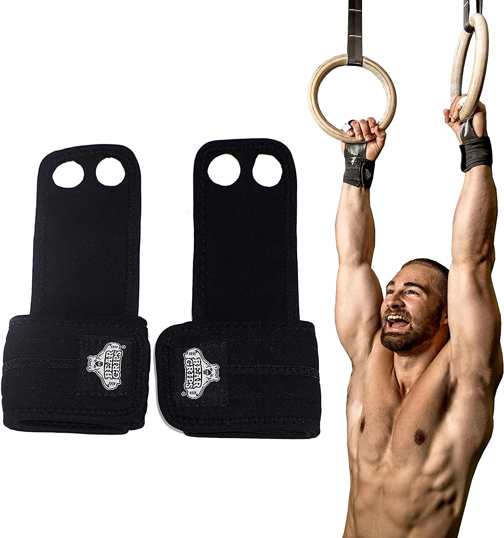 Sacramento Mall Bear Grips 2 Hole 3 San Diego Mall Fitness Cross Gymnastics for WO