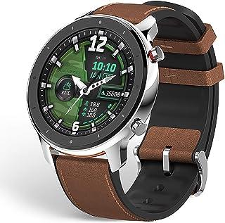 "Amazfit GTR 47 Smartwatch Deportivo Reloj Inteligente AMOLED de 1.39"" GPS + GLONASS Integrado Frecuencia cardíaca Continua..."