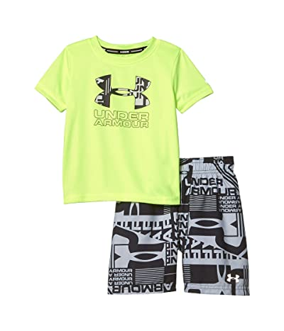 Under Armour Kids Delayed Volley Set (Toddler) (X-Ray) Boy
