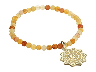 Alex and Ani Solar Plexus Stretch Bracelet (Gold) Bracelet