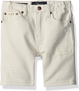Lucky Brand Boys' Big Denim Shorts, Rainy Day, 10