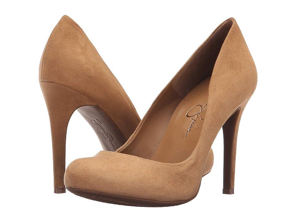 Jessica Simpson Calie (Honey Brown) High Heels