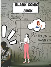 Blank Comic Book Notebook -Multi-Template Edition: Draw Your Own Awesome Comics, Variety Of Comic Templates, (Draw Comics ...