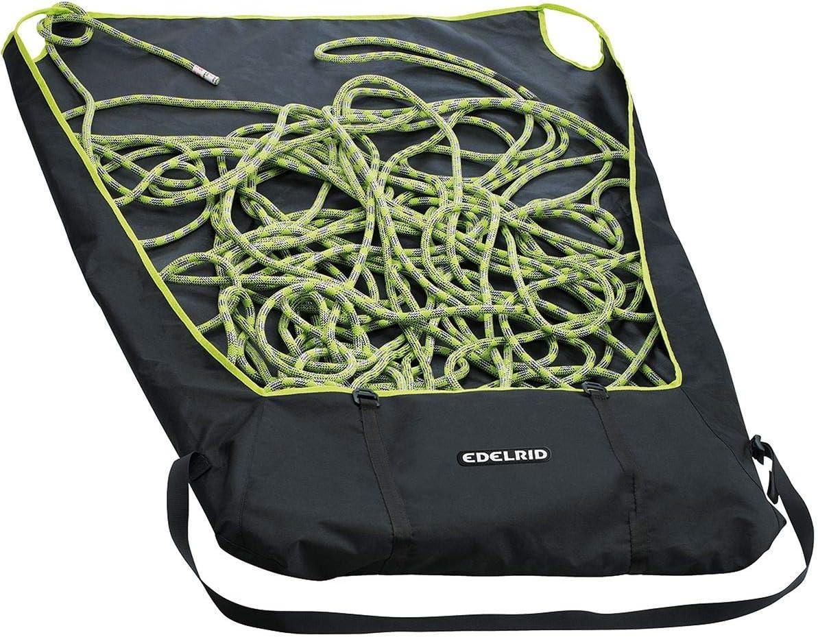 EDELRID Boa 9.8 Cuerda de escalada con bolsa de cuerda, azul ...