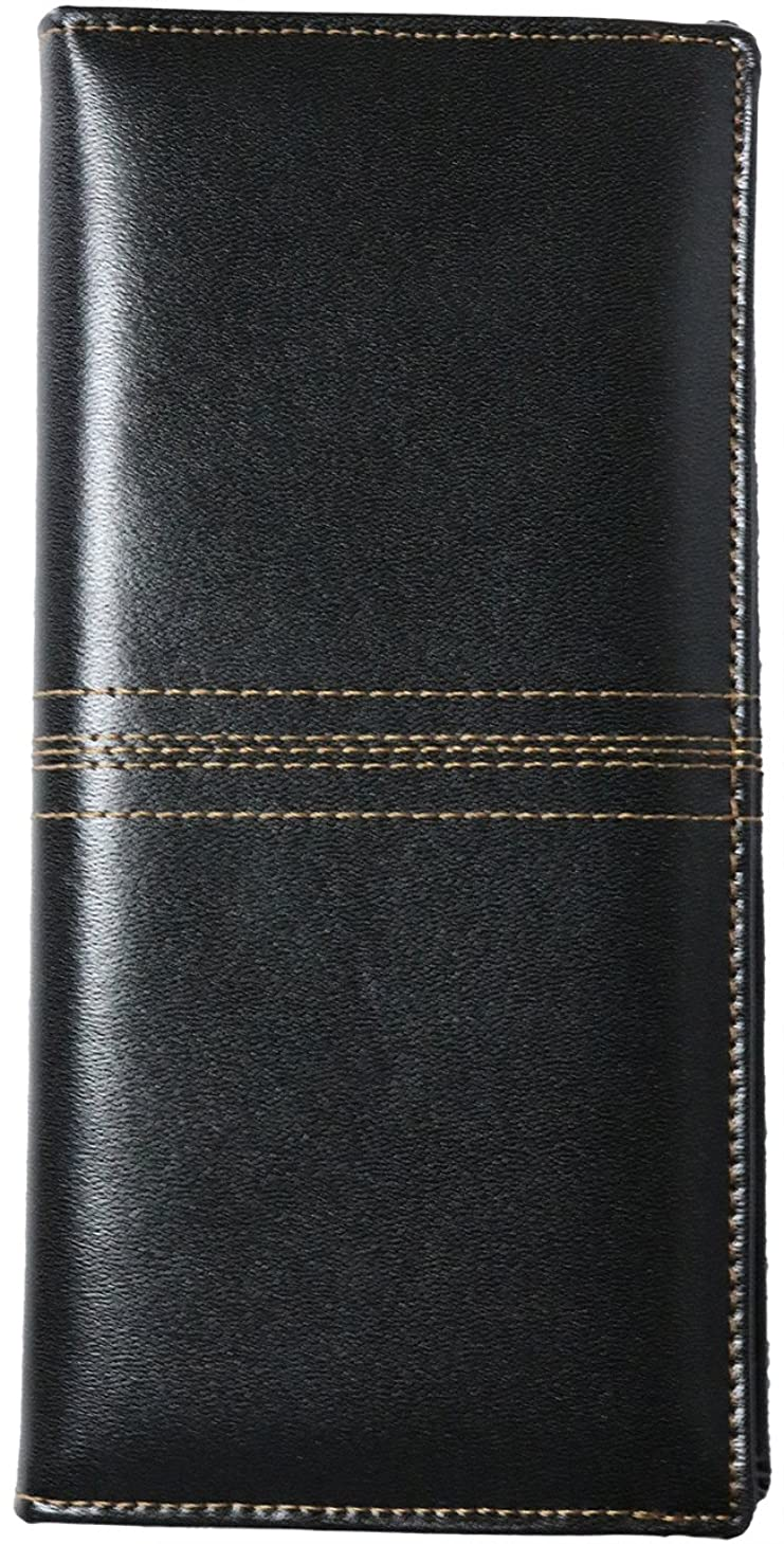 一人で蒸気海[Berkut] 【高級 カーフレザー】 本革 二つ折り財布 長財布 小銭入れあり 薄型 ビジネス ギフト 1030077