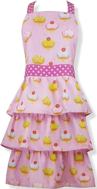 Gourmet Club Cute Cupcake Full Length Apron