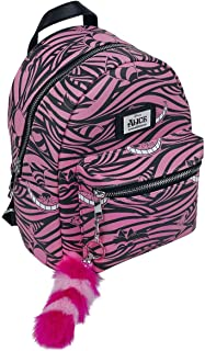 Disney Alice In Wonderland Cheshire Cat All-Over Print Ladies Backpack Mochila tipo casual 41 centimeters 20 Rosa (Multicolour)