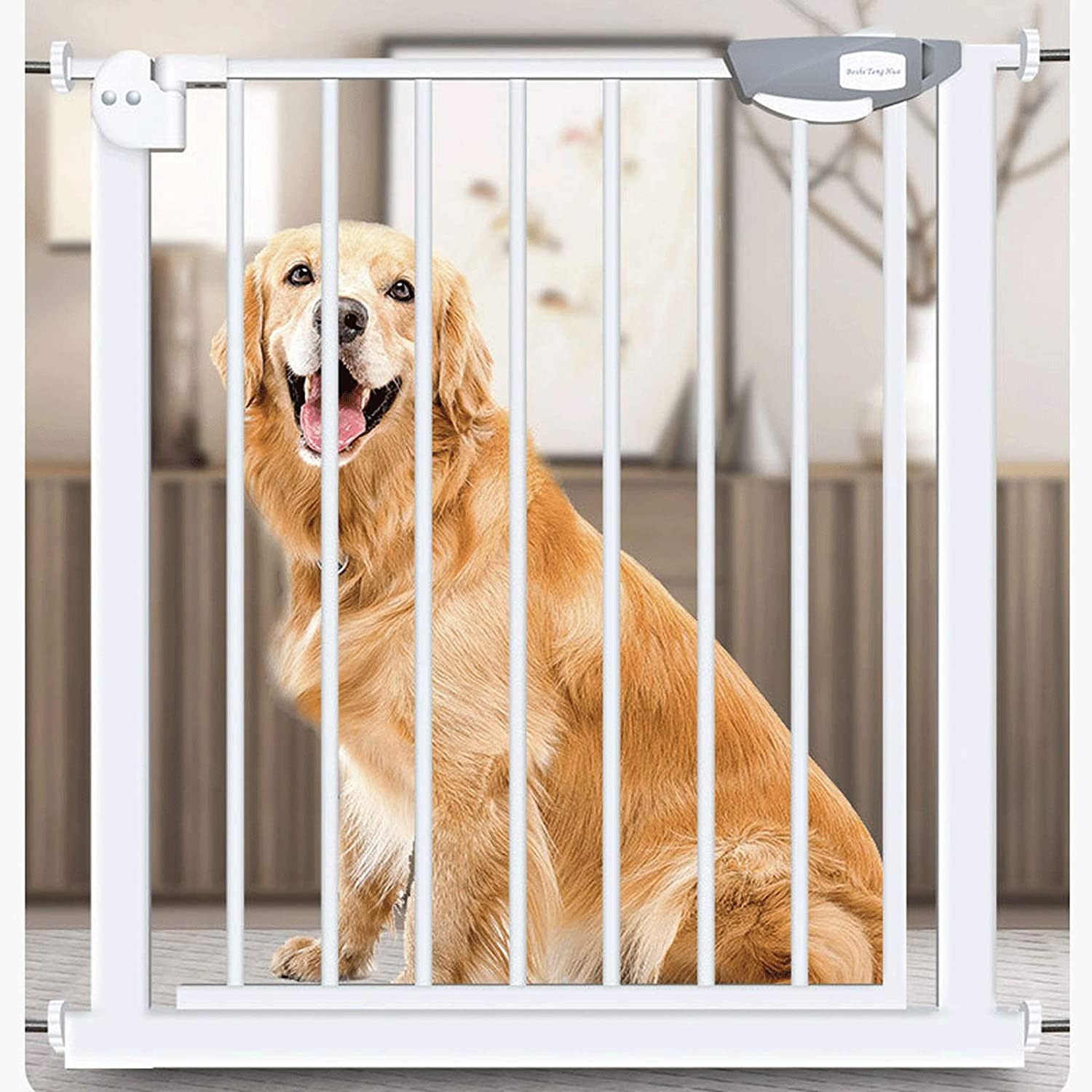 MSG High Quanlity Pet Bargain sale Safety overseas Door Gate Stairway Isolation Guardr
