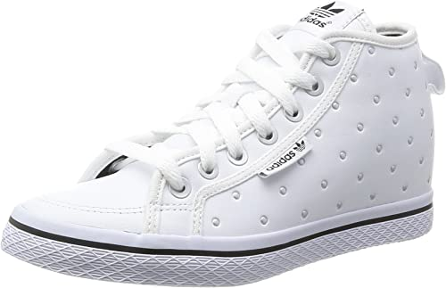 Adidas Honey UP W Hauszapatos Turnzapatos Cuero blanco para Hombre