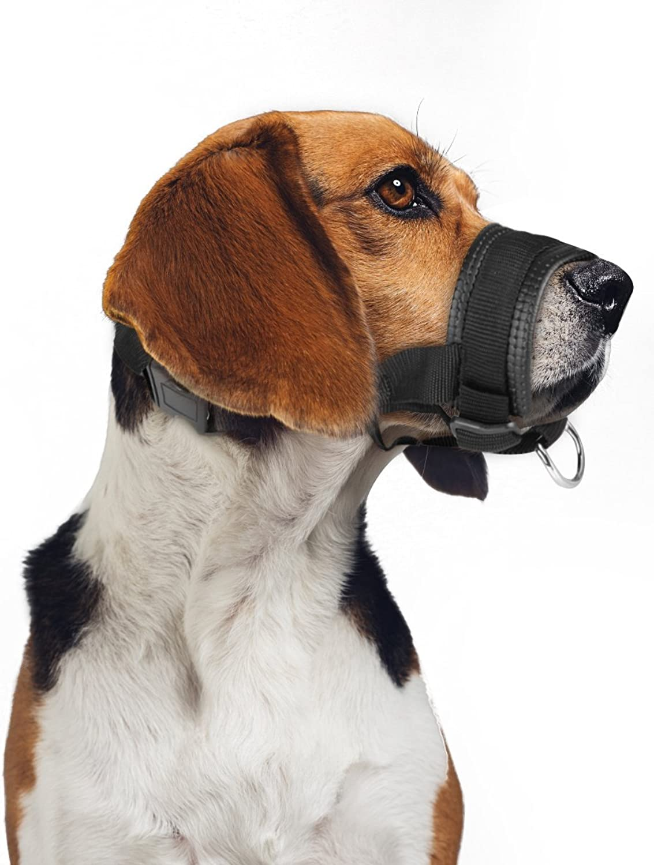 ONSON Dog Muzzle  Adjustable Comfortable Nylon Muzzles Small Medium Large Extra Dog  Stops Biting Safe Retraining Aggressive Dogs