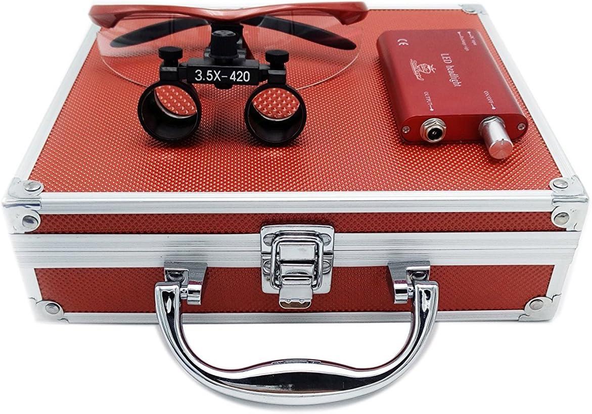 Ocean Max 45% OFF Aquarius New Surgical Binocular 3.5x420MM Sales G Optical Loupes