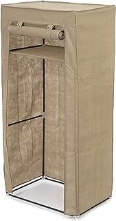 Compactor, Penderie de rangement pour vêtements Austin, Métal et polypropylène, Marron, RAN7887
