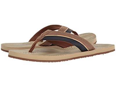 Flojos Kona (Tan/Navy) Men