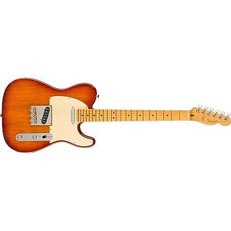 Fender American Professional II Telecaster Electric Guitar, Maple Fingerboard, Sienna Sunburst
