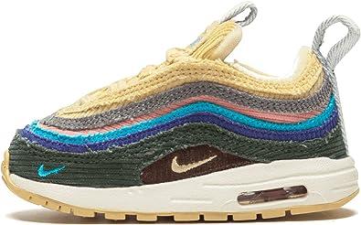 Amazon.com | Nike Mens Air Max 97/1 (TD) BQ1670 400 Sean ...