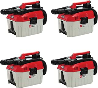 PORTER-CABLE PCC795B 20V MAX Wet/Dry Vacuum (Tool Only), 2 Gallon (Pack of 4)