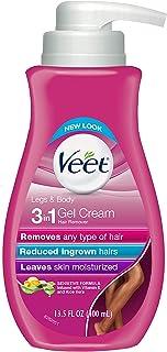 Veet Hair Removal Cream Pump 400ml (2 Pack