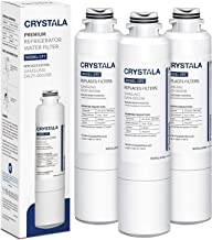 Crystala Filters DA29-00020B Water Filter Replacement for Samsung Refrigerators, Compatible with Samsung DA29-00020B, DA29-00020A, HAF-CIN, HAF-CIN/EXP, 46-9101, 3 Packs