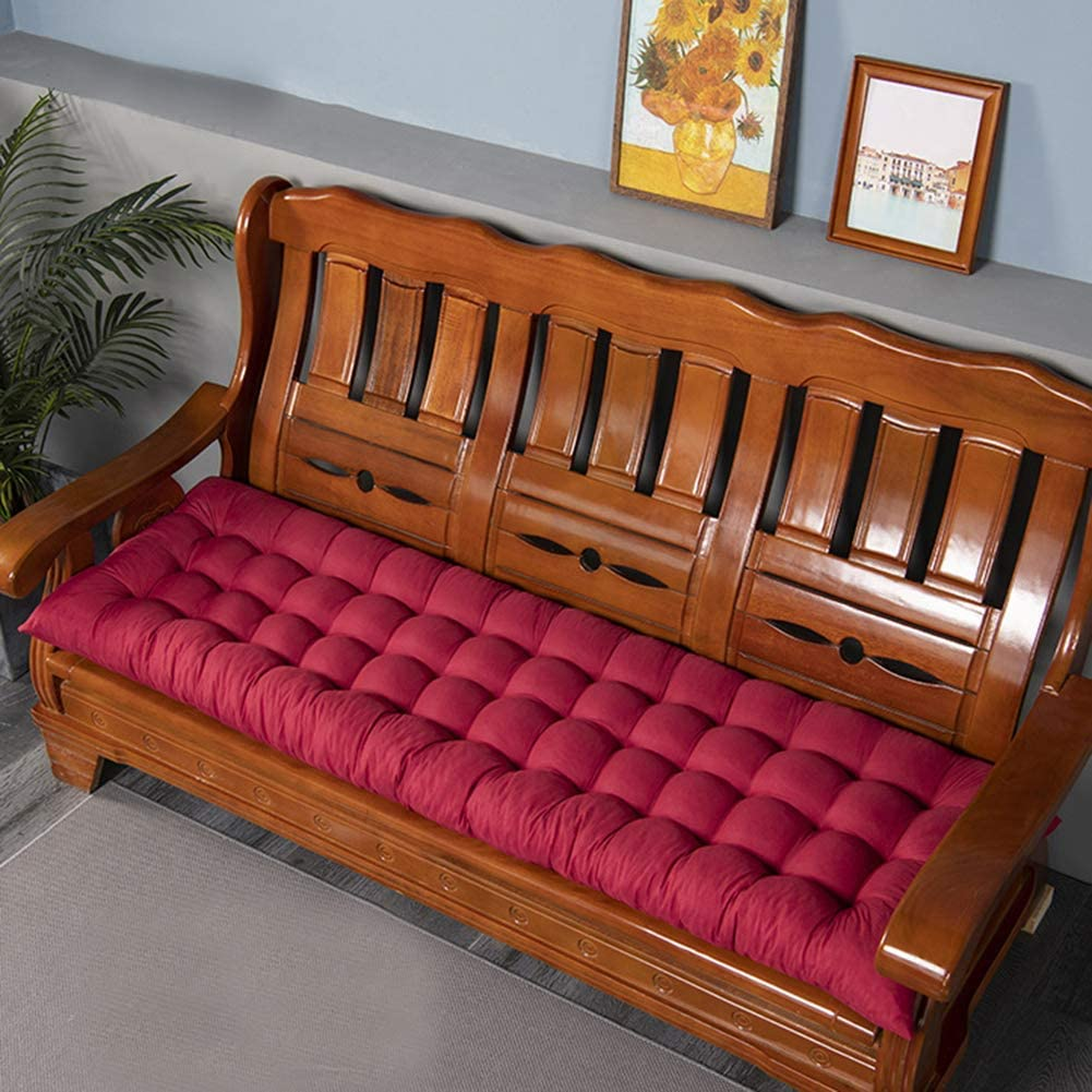Garden Long Bench Cushion 3 Seater Challenge the lowest price of Japan ☆ for Pad Mat Elegant Seat Outdo Indoor