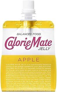 大塚製薬  カロリーメイト ゼリー  アップル味 215gパウチ×12