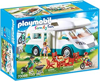 PLAYMOBIL Family Camper Vehicle Playset
