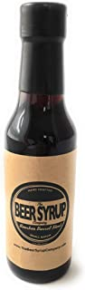 The Beer Syrup Company Craft Beer Simple Syrup - Simple Syrup for Cocktails and Coffee - Handcrafted, Non-alcoholic Cocktail Mixer - Bourbon Barrel Stout, 5.5 Ounces
