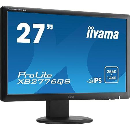 Iiyama Xb2776qs B1 68 6 Cm Led Monitor Schwarz Computer Zubehör