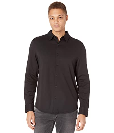 Calvin Klein Long Sleeve Liquid Knit Shirt Men