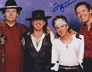 Tommy Shannon Signed Autographed 8x10 Photo Stevie Ray Vaughan Double Trouble C