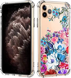 Bubunix iPhone 11 Pro Case, iPhone 11 Pro Transparent Silicone Case, TPU Protective Airbag Clear Anti Shock Ultra-Thin Anti Scratch Case for iPhone 11 Pro (Style 7)