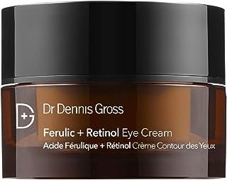 Dr. Dennis Gross Ferulic + Retinol Eye Cream: for Crows Feet, Elevens, and Dark Circles, 0.5 oz