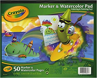 Crayola Marker/Watercolor Pad , For Kids