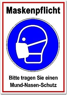 Maskerverplicht sticker sticker toegang alleen met masker markering opmerking instructiebord voor handel detailhandel over...