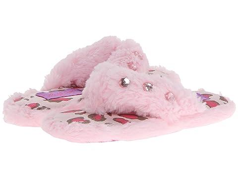 96491e27fd0 M F Western Kids Furry Flip Flop Slippers (Toddler Little Kid Big Kid)