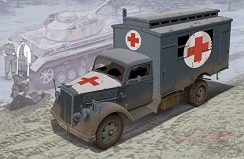 Dragon D6790 Gerhomme Ambulance Truck KIT 1 35 MODELLINO Model Compatible avec