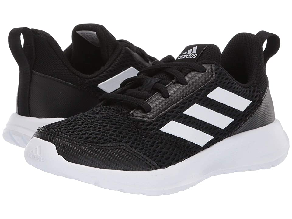 adidas Kids AltaRun (Little Kid/Big Kid) (Core Black/Footwear White/Core Black) Boys Shoes