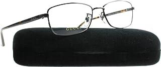 0da113e6d76 Gucci GG0063OJ Eyeglasses 002 Ruthenium Avana Clear Lens 57 mm