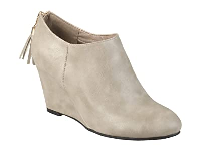 Journee Collection Colins Bootie (Grey) Women