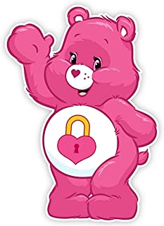 Secret Care Bear Iron On Transfer for T-Shirts & Other Light and Dark Color Fabrics #13 Divine Bovinity (Light Color Fabric Iron On Transfer)