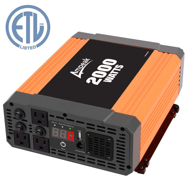 Ampeak 2000W Inverter Outlets Converter