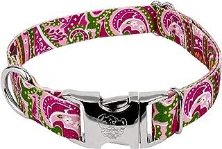 Country Brook Petz - Premium Dog Collar - Five Paisley Collection