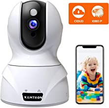 Security Camera 1080P Pet Camera – KAMTRON WiFi Home Security System for..