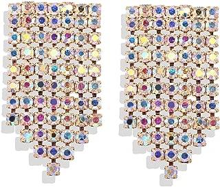 Best multi coloured crystal earrings Reviews