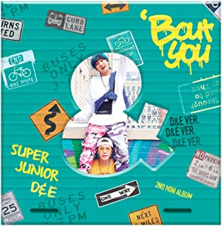 SM Entertainment SUPER JUNIOR-D&E - Bout You (2nd Mini Album) [D&E ver.] CD+Photobook+Folded Poster