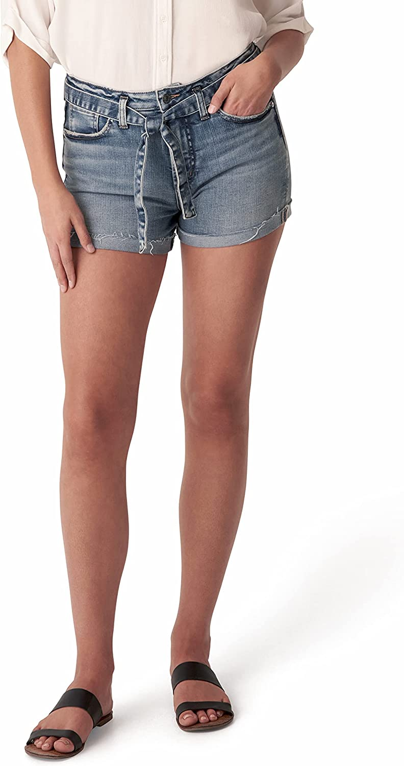 Silver Jeans Co. Rare Women's Sure Thing Jean Shorts Gorgeous High Rise