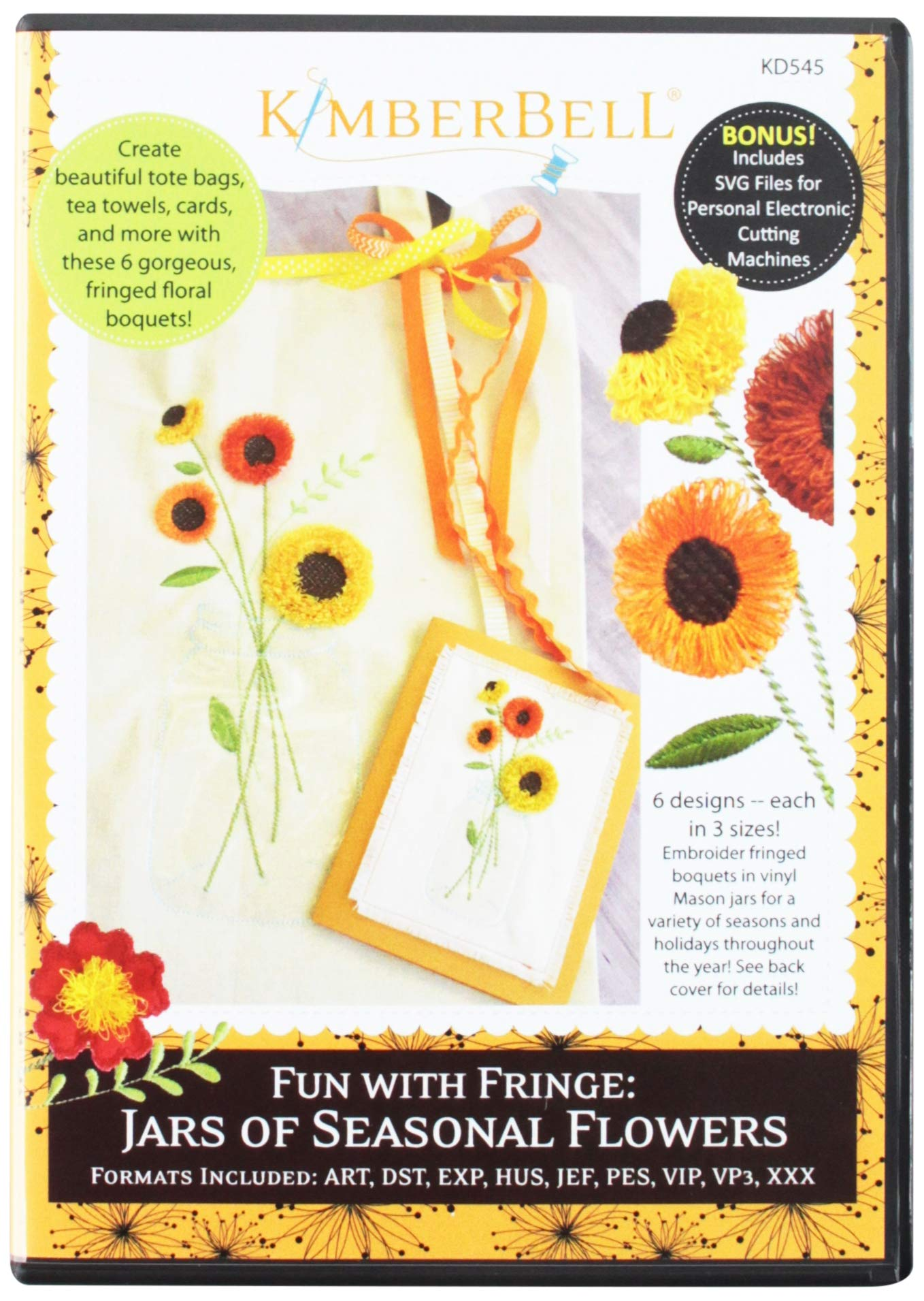 DAISIES COLLECTION MACHINE EMBROIDERY DESIGNS ON CD OR USB