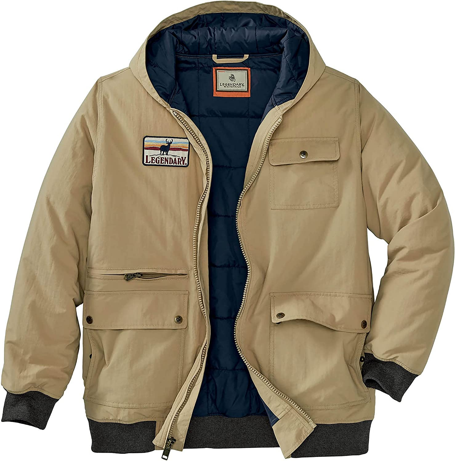 sold out Legendary Whitetails Men's Marksman Bomber Quil Translated Jacket-Outerwear