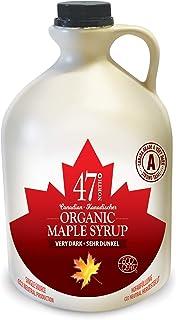 47 North Jarabe de arce orgánico canadiense, Single Source