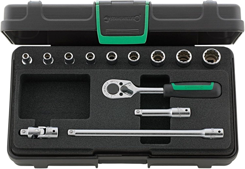 Stahlwille 96011304 Steckschlüsselgarnitur 13-teilig im robusten, stapelbaren ABS-Kunststoffkasten B01FC5K0Z2 B01FC5K0Z2 B01FC5K0Z2   Lebensecht  3d2a9b