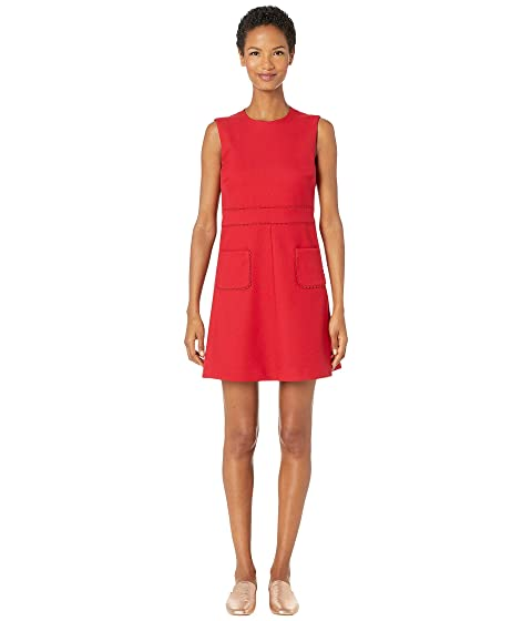 RED VALENTINO Tricotine Tech Dress